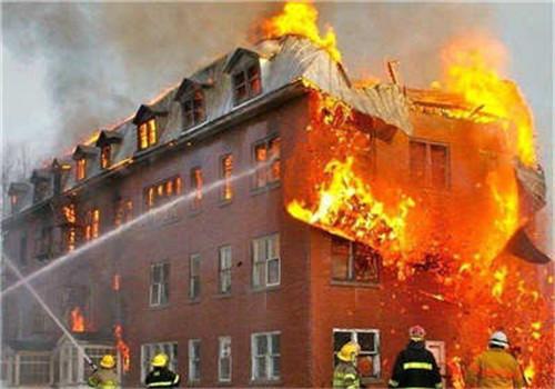 房屋火灾后检测