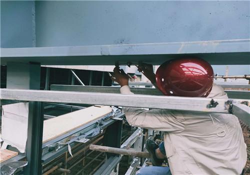 钢结构变形检测