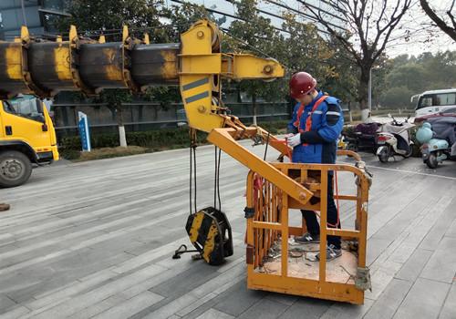 我司在杭州幕墙检测大显身手