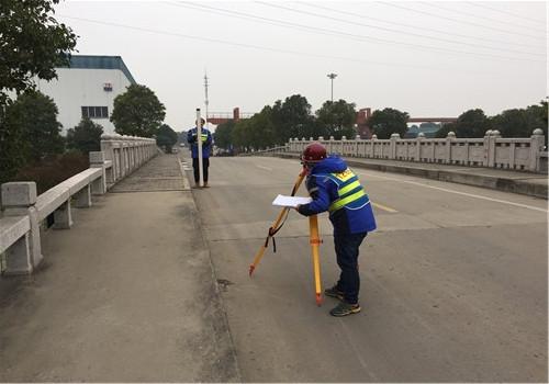 我司高效率完成某厂区桥梁检测